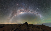 Airglow and the Milky Way Galaxy