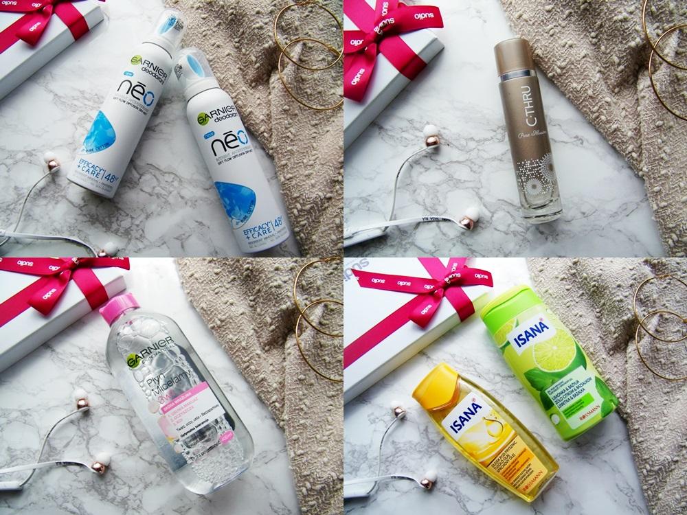 Rossmann, dezodorant Garnier Neo, Isana, płyn micelarny Garnier, perfumy c-thru
