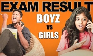 Boys vs Girls: Exam Results | Shutup Pannunga