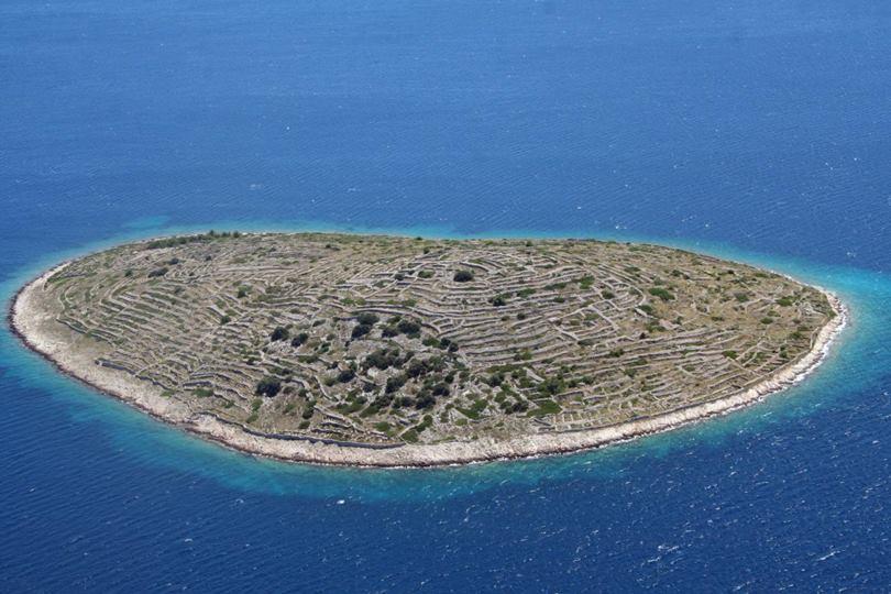 baljenac,  baljenac island,  fingerprint island,  bavljenac,  island fingerprint,  Croatian Island,