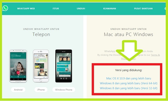 Download WhatsApp Web Pada Komputer / Laptop