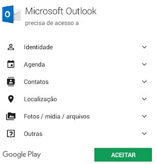 Como criar um e-mail Outlook no celular