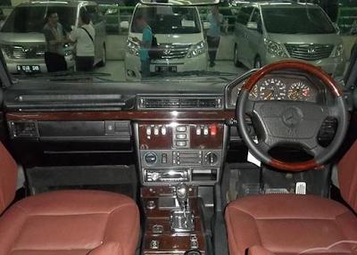 Interior Jip Mercy G-Class W463 G300