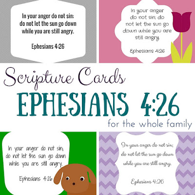 15 fantastic verses to memorize with your family!  Printable Scripture cards for everyone!  This is great so everyone to memorize verses at the same time!