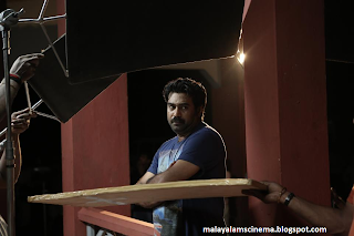 biju menon during the shot