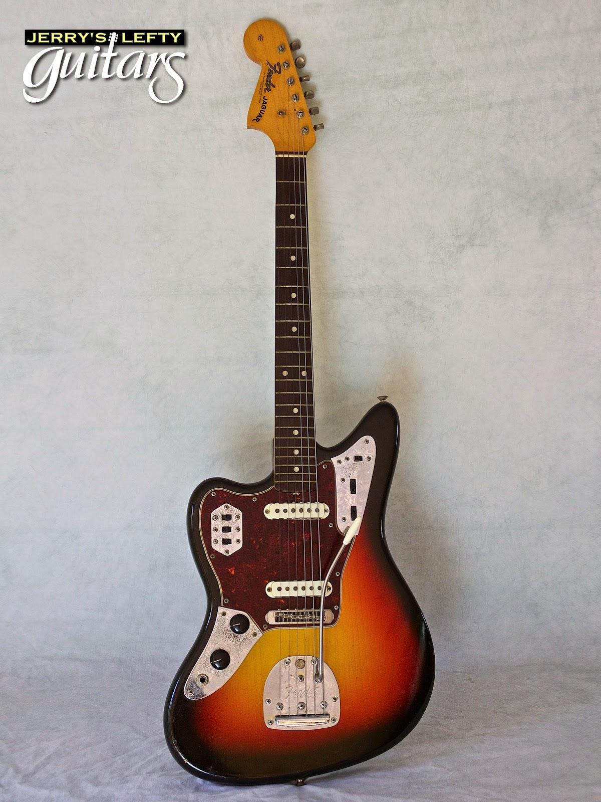jerry 39 s lefty guitars newest guitar arrivals updated weekly 1965 fender jaguar used left. Black Bedroom Furniture Sets. Home Design Ideas