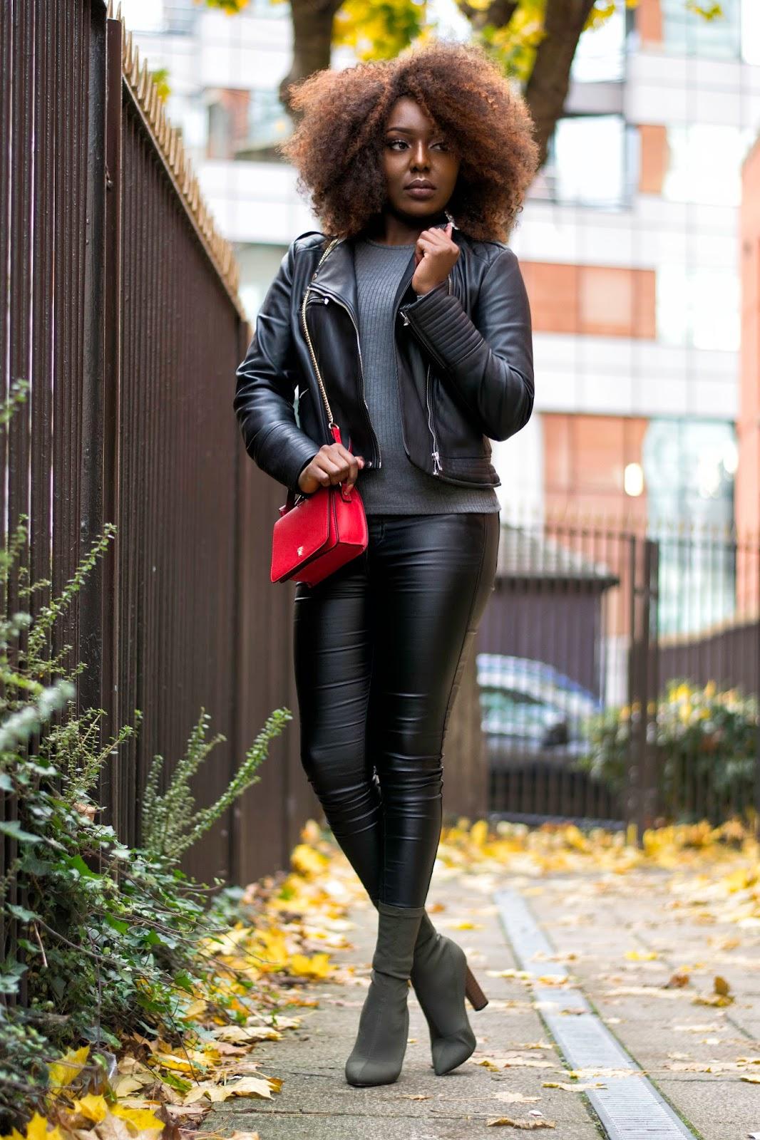faux leather @stephylately