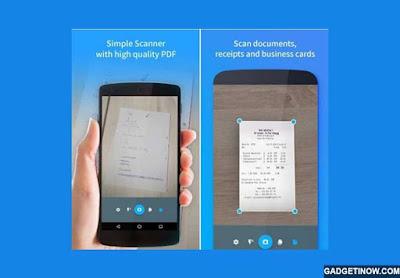 TapScanner, Aplikasi untuk Scan Dokumen Menggunakan Kamera Smartphone