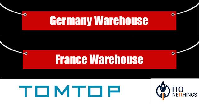 Tomtop - Armazém Alemão e Francês