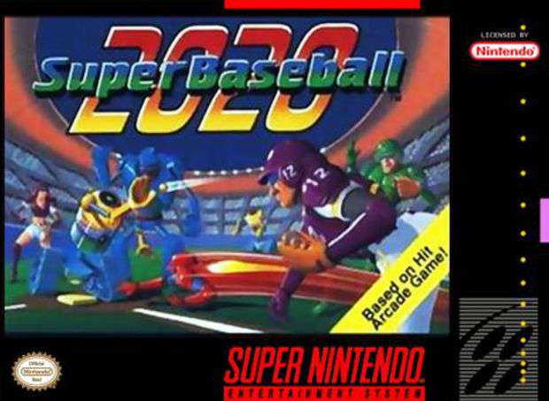 2020 Super Baseball - SNES - Portada