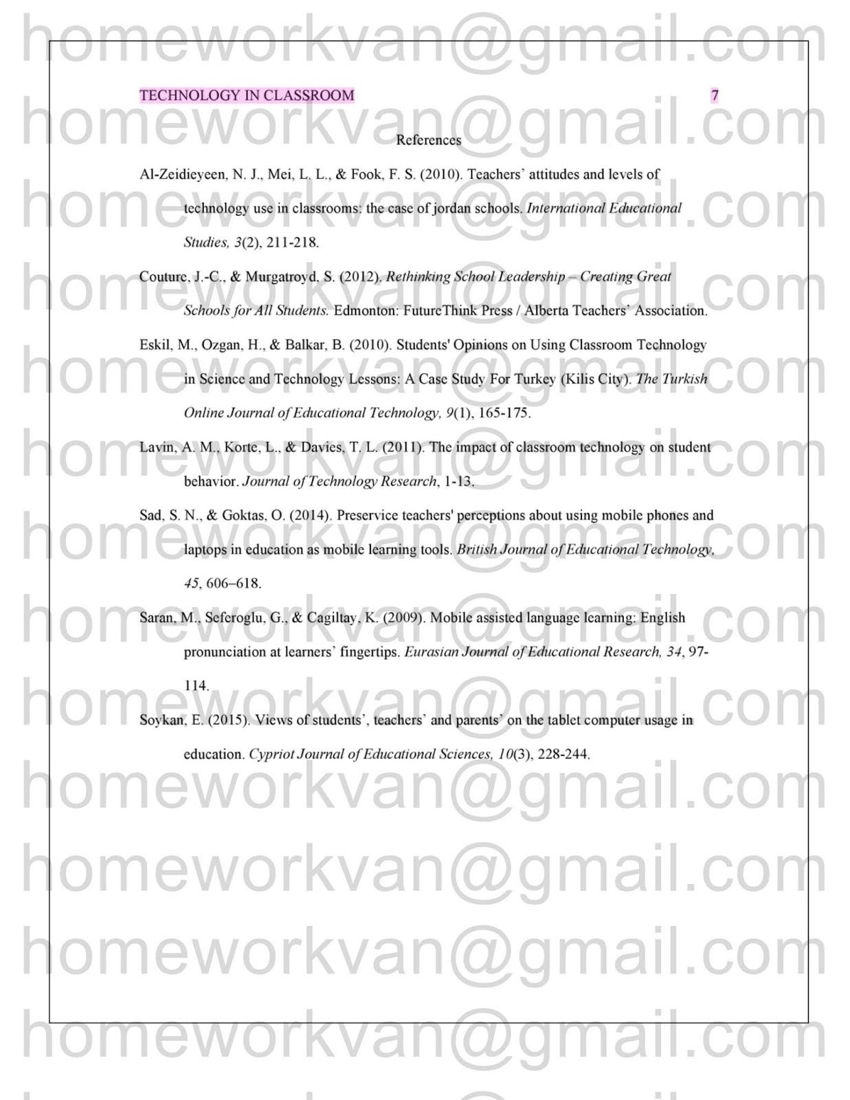 Homework helper literature