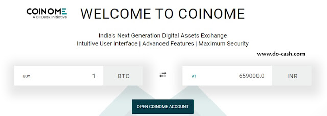 Coinome official site