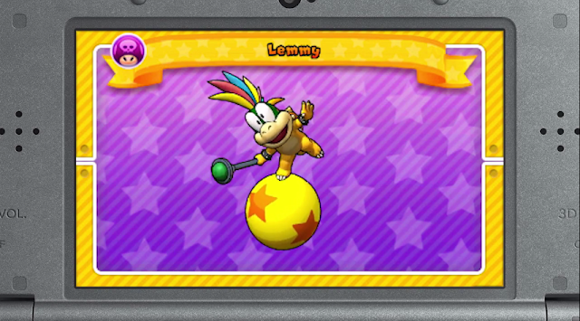 Puzzle & Dragons Super Mario Bros. Edition Lemmy Koopa unlockable playable character Koopalings Kids