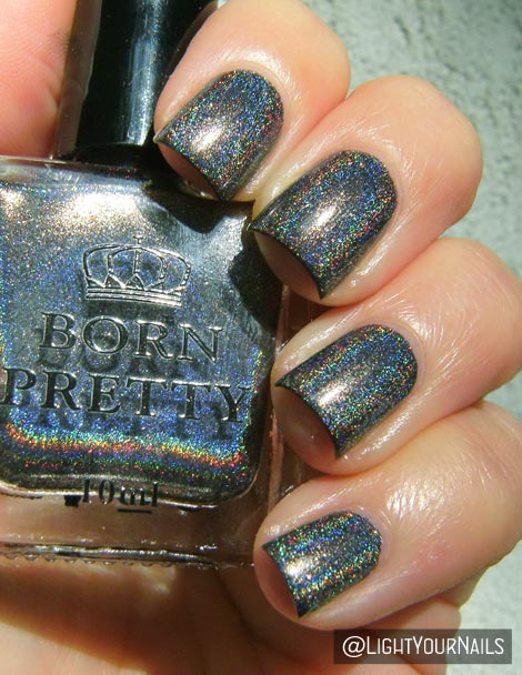 Born Pretty holo H001 Shine In The Dark