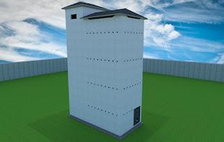 Desain Rumah Burung Walet 4X8 4 Lantai Premium DIAN WALET
