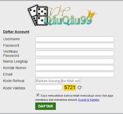 daftar Pokerv