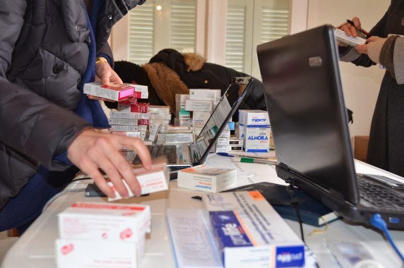 Διαλογή φαρμάκων στον Καπνικό Σταθμό!