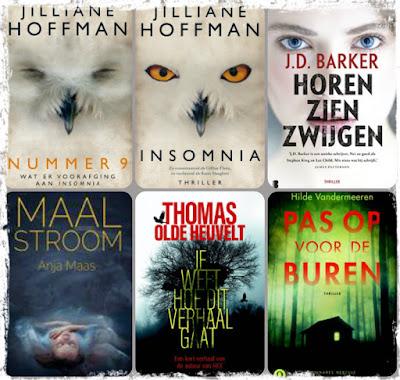 Jilliane Hoffman, JD Barker, Anja Maas, Thomas Olde Heuvelt, Hilde Vandermeeren