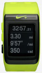 Nike Plus GPS Sport Watch pace
