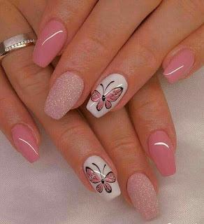 como decorar unha cor de rosa