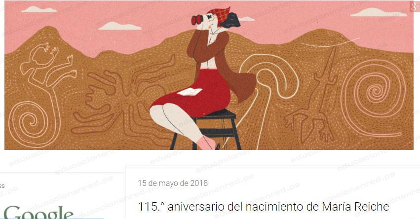 GOOGLE: El gigante de internet rinde homenaje a María Reiche, la protectora de las Líneas de Nasca - www.google.com.pe