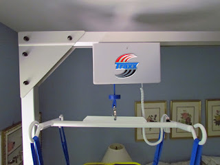 freestanding overhead patient lift
