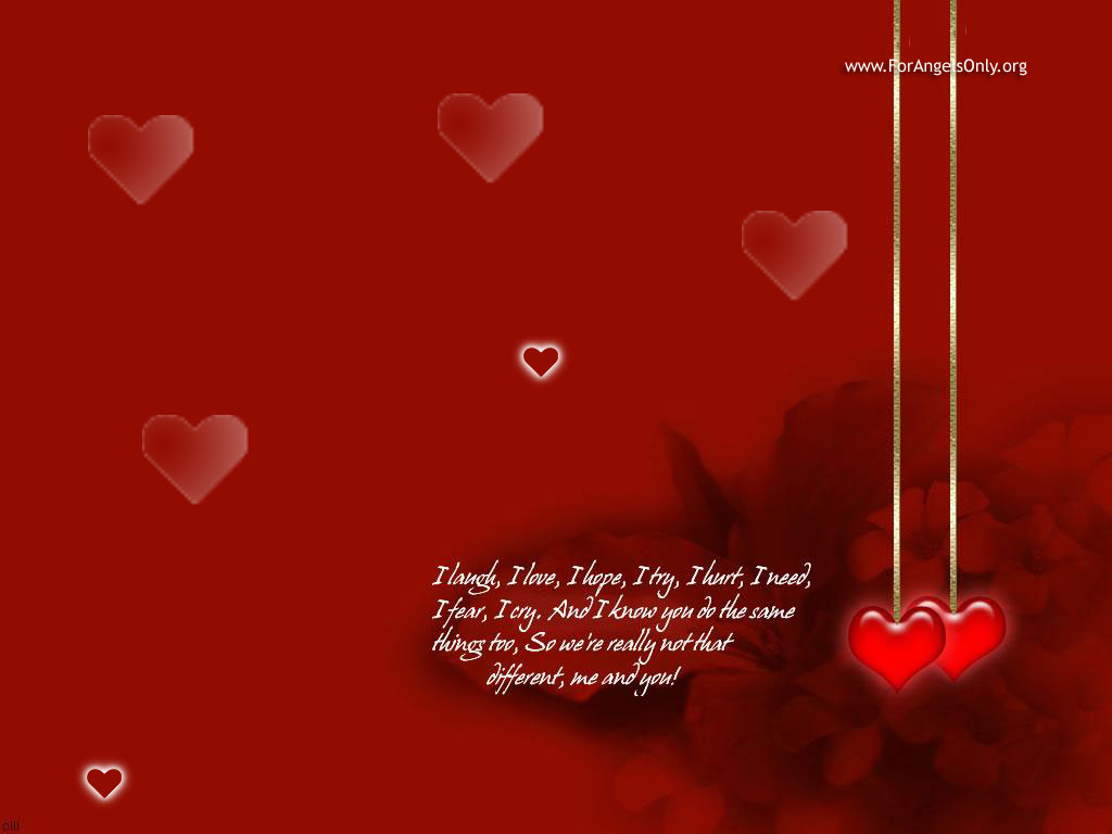 Hallo Gays: Love Wallpapers With Quotes