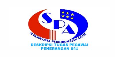 Deskripsi Tugas, Gaji dan Kelayakan Pegawai Penerangan Gred S41
