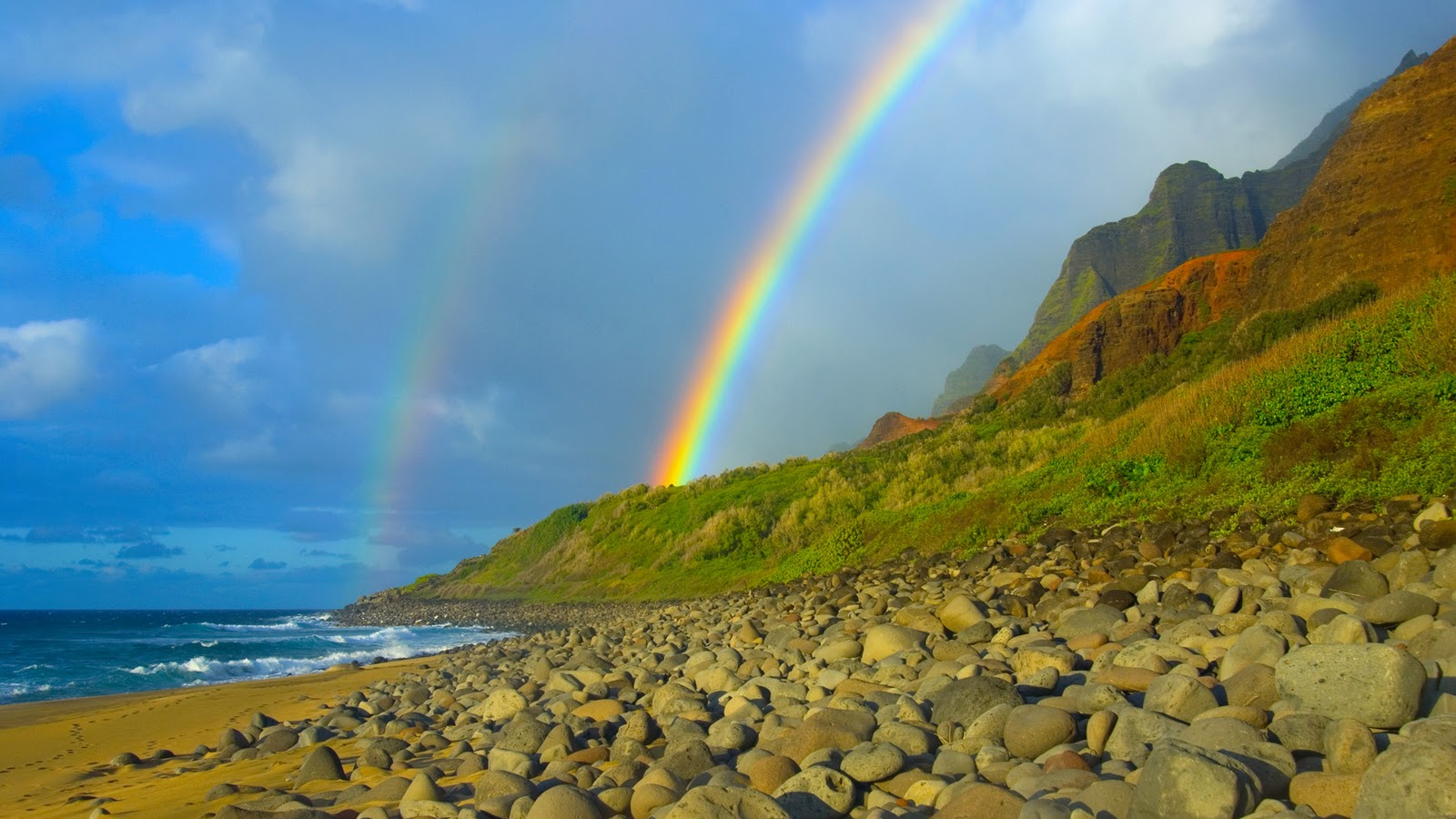 Funnnnnnny WalPapErZ: Beautiful Rainbows and Lightnings ...