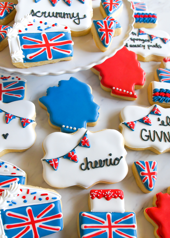 Great British Baking Show-inspired cookies