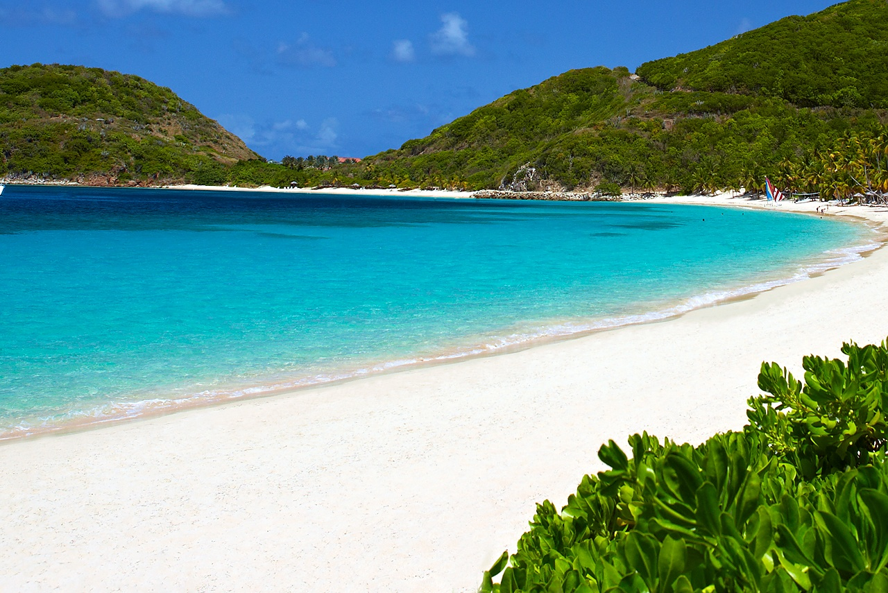 White Bay Beach Peter Island
