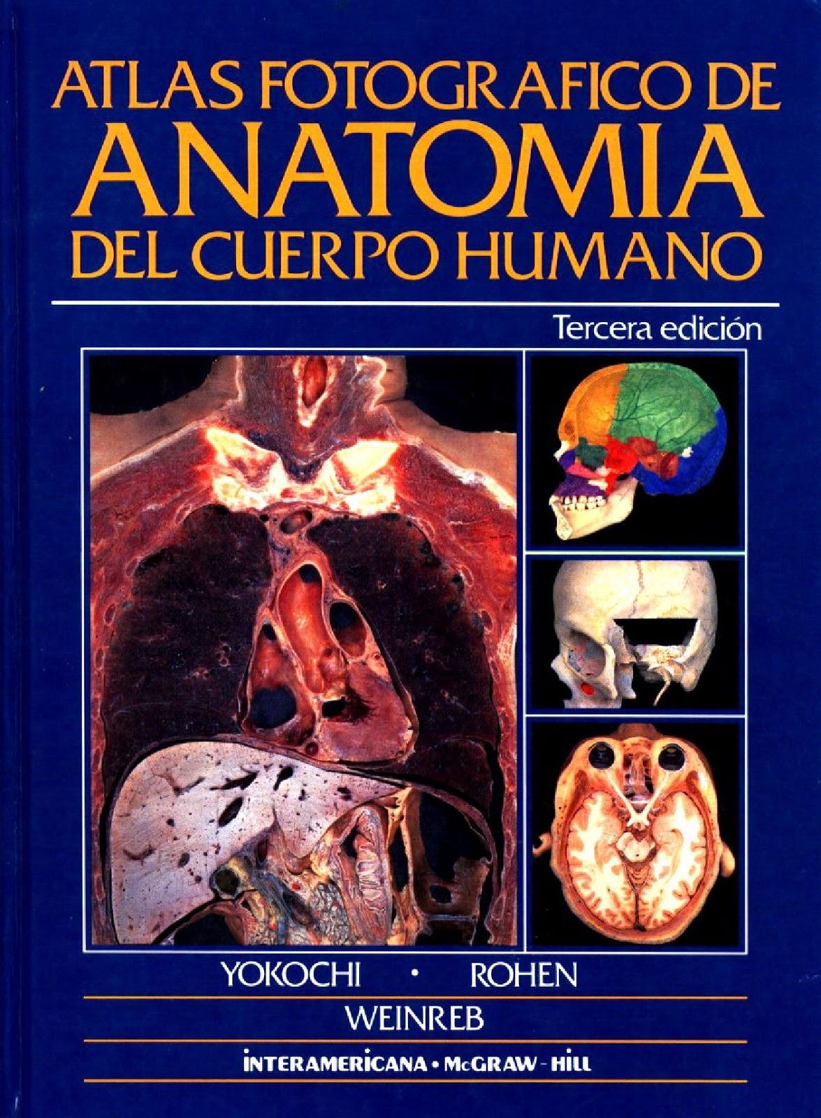 ROHEN YOKOCHI | ATLAS DE ANATOMIA | Libros De Medicina UNICAH