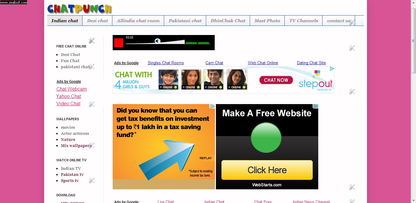 1AllindiaChat Best Free Indian Chatroom Desi Chat