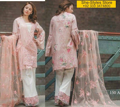 Carnation by Rangrasiya Summer Eid Collection 2017-18
