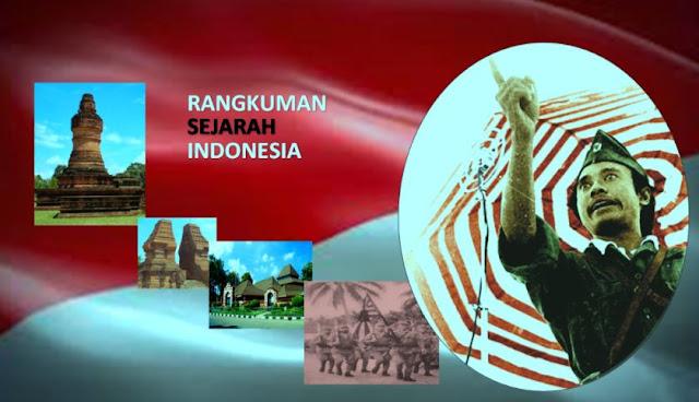 Rangkuman Sejarah Indonesia