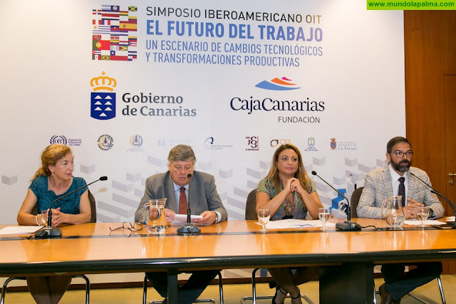Más de una treintena de expertos de Europa e Iberoamérica se reúnen en La Palma para abordar el futuro del trabajo