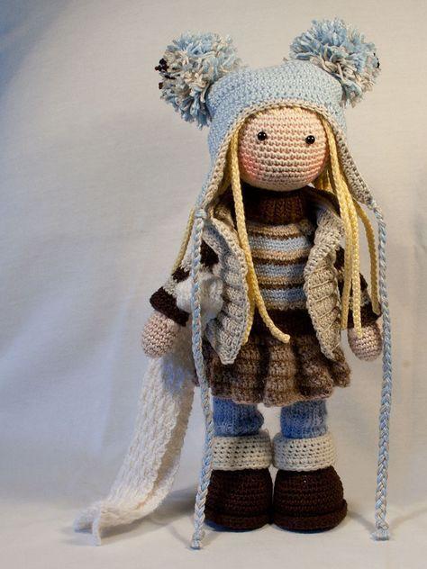 Amigurumi bebek - şapkalı kız – 10marifet.org | 632x474