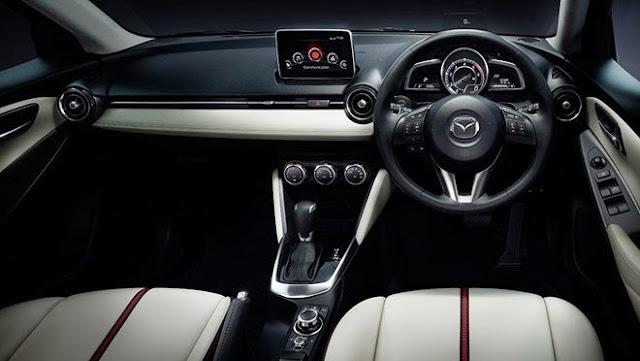 Nội thất Mazda 2 cao cấp và sang trọng với nhiều tiên nghe