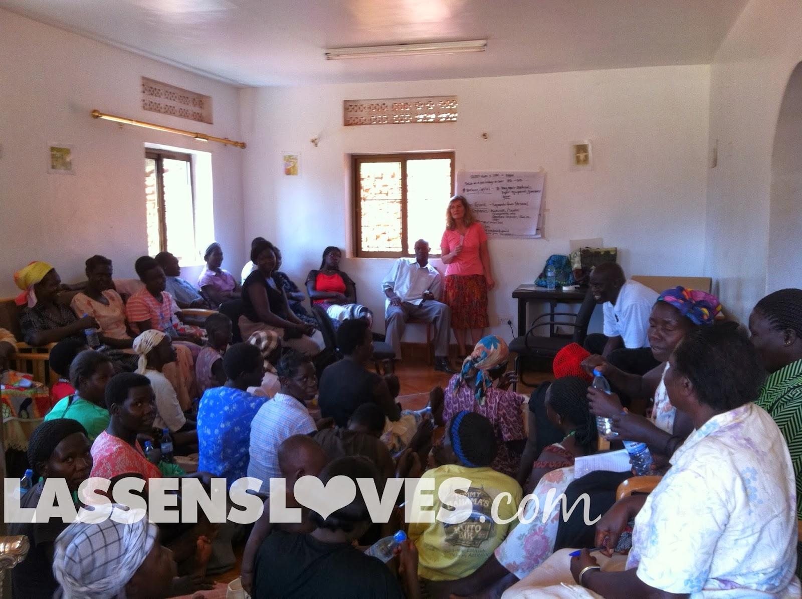 lassensloves.com, Lassen's, Gulu+Uganda, thrive+gulu, business+seminar