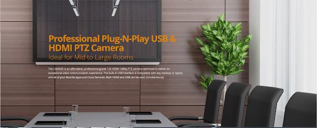 Camera hội nghị truyền hình Plug-N-Play - Aver Cam530