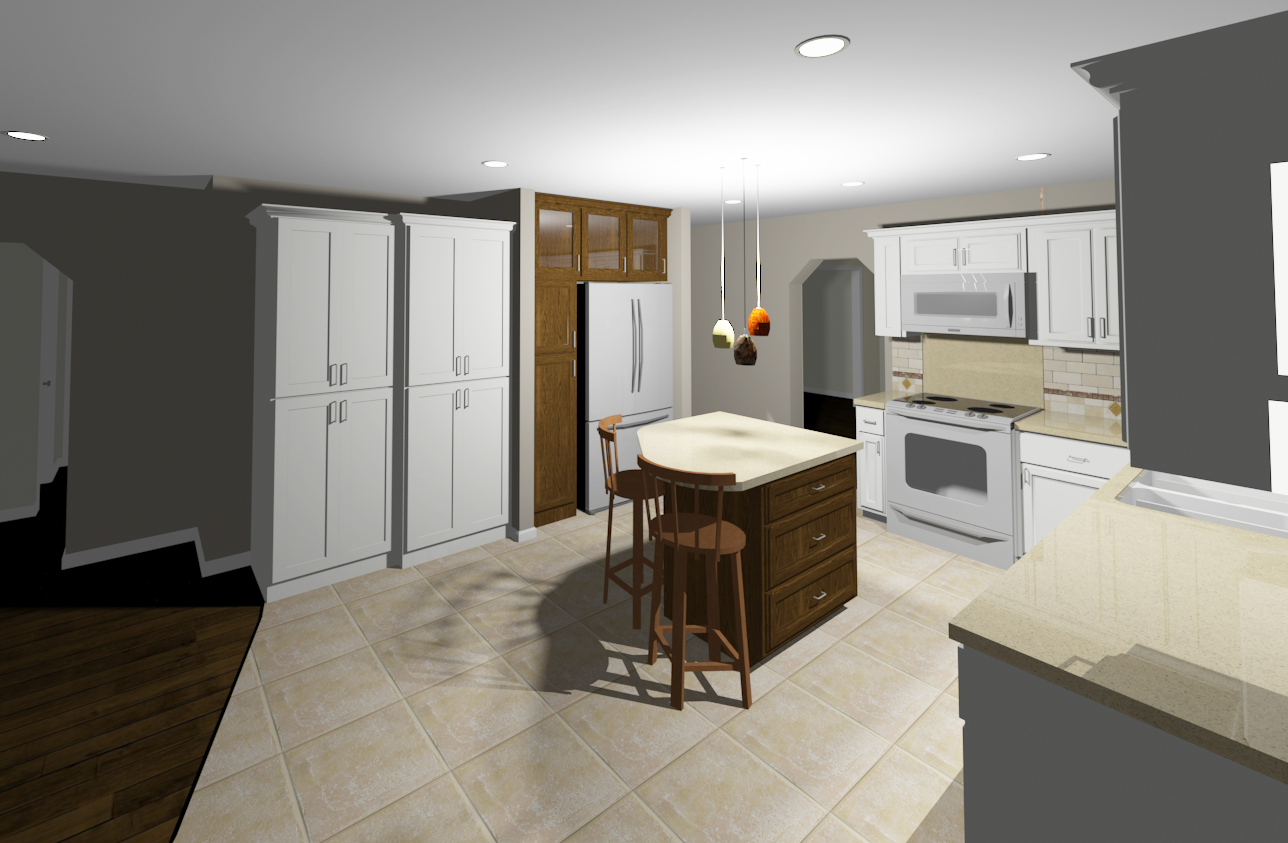 Kitchen Bath Design Challenges 2d To 3d Need Cad Drawings