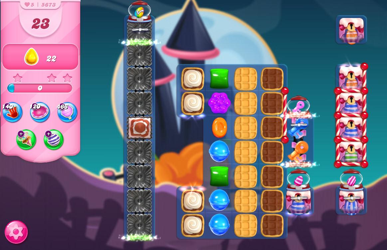 Candy Crush Saga level 5673