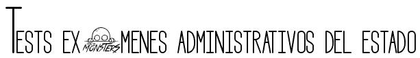 Test exámenes administrativos del estado