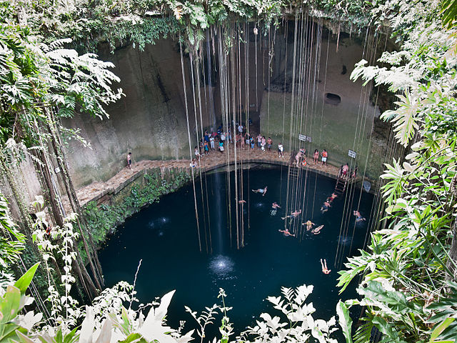 The Sink Hole at Chichen Itza