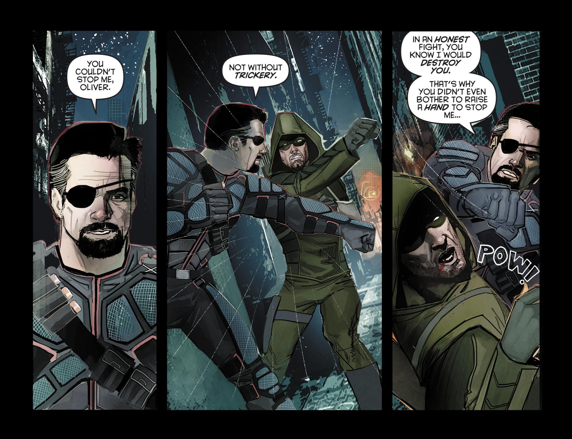 Read online Arrow: Season 2.5 [I] comic -  Issue #7 - 15