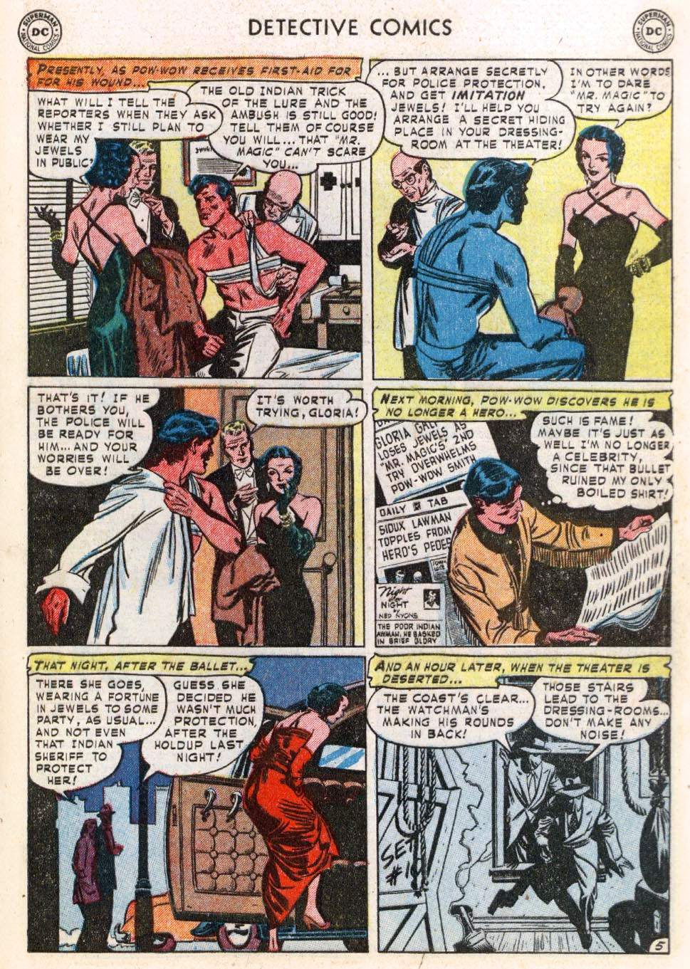 Read online Detective Comics (1937) comic -  Issue #183 - 39