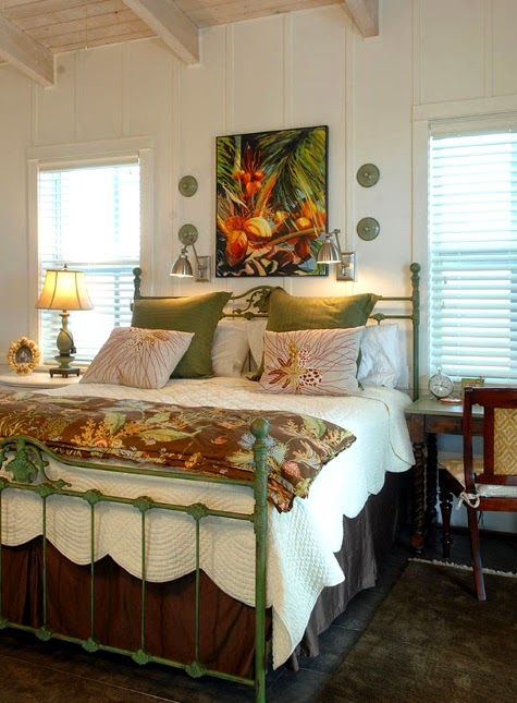 hawaiian bedroom warm coastal home with a tropical nautical theme 452