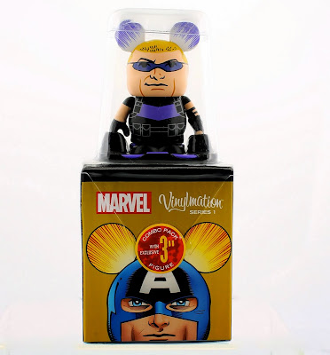 Hawkeye Marvel Vinylmation Series 1 Combo Pack Topper Packaging