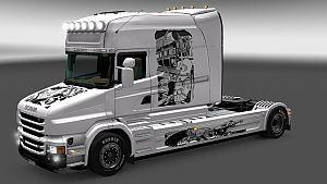 Space Explorers Scania T skin