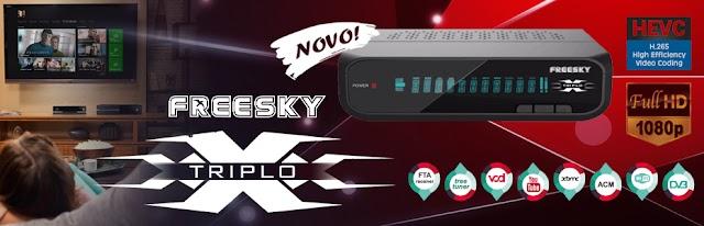 PATCH 63W PARA O FREESKY TRIPLO X ON - 06/09/2017